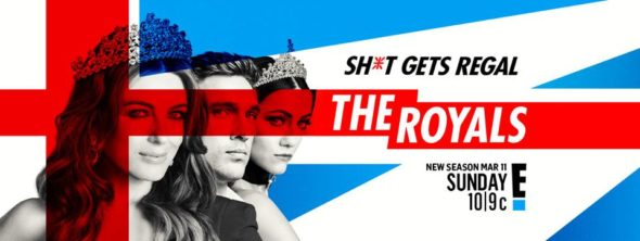 The Royals TV show on E!: season 4 ratings (canceled or renewed season 5?)
