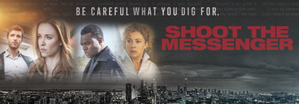Shoot the Messenger TV show on WGN America: canceled, no season 2 (canceled or renewed?)