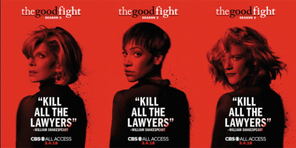 The Good Fight TV show on CBS All Access: (canceled or renewed?)
