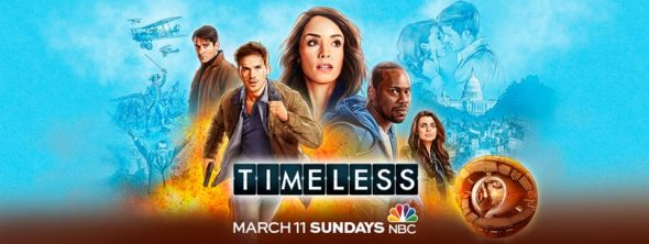 Timeless TV show on NBC: season 2 ratings (canceled or renewed season 3?)