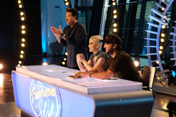 American Idol TV show on ABC: season 16 viewer votes episode ratings (canceled renewed season 17?)