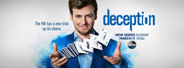 Deception TV show on ABC: season 1 ratings (canceled or renewed?)