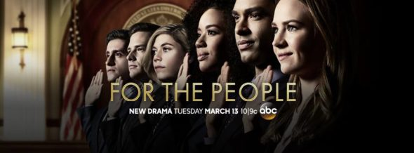 For the People TV show on ABC: season 1 ratings (canceled renewed season 2?)