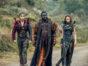 Into the Badlands TV show on AMC: season 3 (canceled or renewed season 4?); Dean-Charles Chapman as Castor, Babou Ceesay as Pilgrim, Ella-Rae Smith as Nix