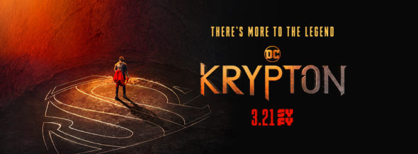 Krypton TV show on Syfy: season 1 ratings (cancel or renew season 2?)