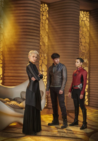 Krypton TV show on Syfy: season 1 viewer votes episode ratings (cancel renew season 2?)