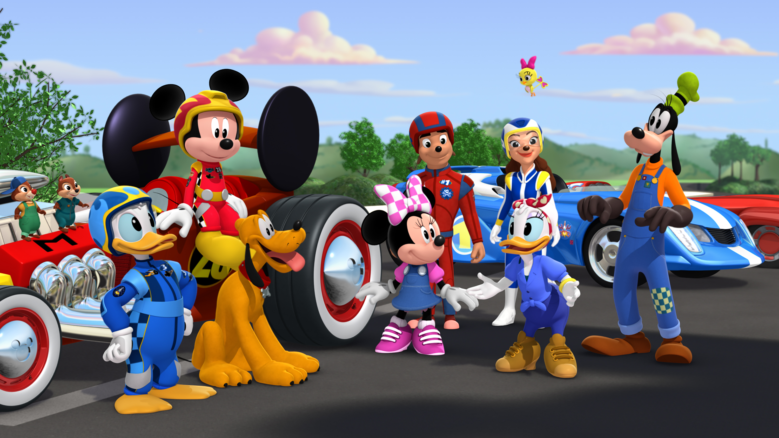 Mickey And The Roadster Racers Season Three Ordered By Disney Junior Season Two Debuts In April Canceled Renewed Tv Shows Tv Series Finale