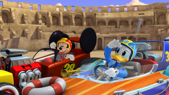 season three renewal; Mickey and the Roadster Racers TV show on Disney Junior: season 2 premiere date (canceled or renewed?)