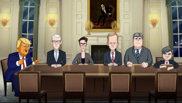 Our Cartoon President TV show on Showtime: canceled or renewed for season 2?