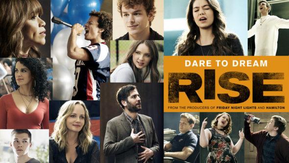 Rise TV show on NBC: season 1 ratings (cancel or renew season 2?)