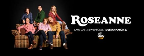 Roseanne TV show on ABC: season 10 ratings (canceled or renewed season 11?)
