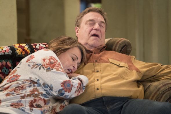 Roseanne TV show on ABC: season 10 viewer votes episode ratings (canceled renewed season 11?)