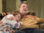 Roseanne TV show on ABC: season 10 viewer votes episode ratings (canceled renewed season 11?); Pictured: ROSEANNE BARR, JOHN GOODMAN