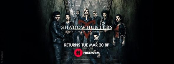 Shadowhunters TV show on Freeform: season 3 ratings (cancel or renew season 4?)