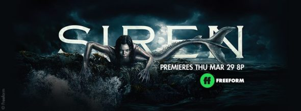 Siren TV show on Freeform: season 1 ratings (canceled renewed season 2?)