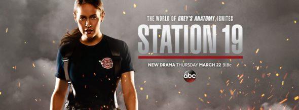 Station 19 TV show on ABC: season 1 ratings (canceled or renewed season 2?)