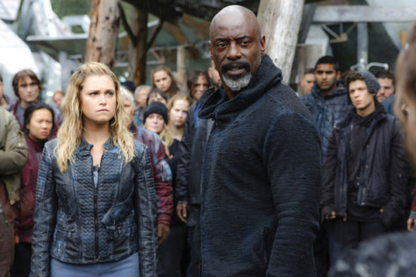 The 100 TV show on The CW: (canceled or renewed?)