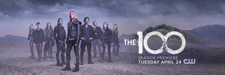 Risultati immagini per the 100 6 banner