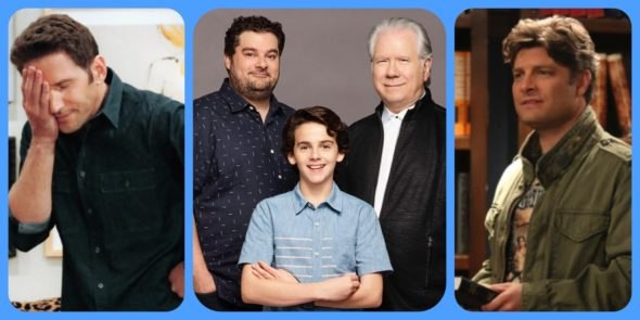 Cancelled CBS TV shows - 9jkl, Me Myself & I, Living Biblically