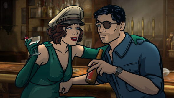 Archer TV show on FXX: season 9 viewer votes episode ratings (canceled renewed season 10?)