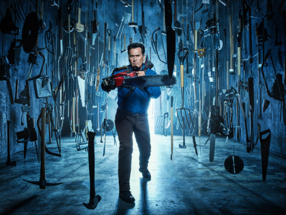 Ash Vs Evil Dead TV show on Starz: canceled, no season 4 (canceled or renewed?)