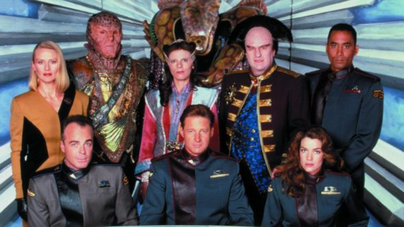 Babylon 5 TV show: (canceled or renewed?)