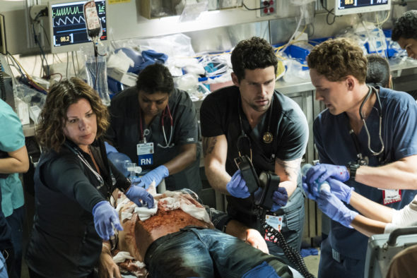 Code Black TV show on CBS: season 3 viewer votes episode ratings (canceled renewed season 4?)