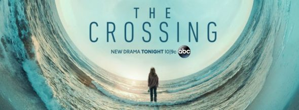 The Crossing TV show on ABC: season 1 ratings (canceled renewed season 2?)