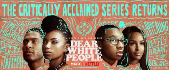 Dear White People TV show on Netflix: season 2 viewer votes episode ratings (canceled or renewed season 3?)