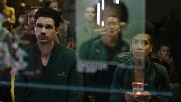 The Expanse TV show on Syfy: season 3 viewer votes episode ratings (canceled renewed season 4?)