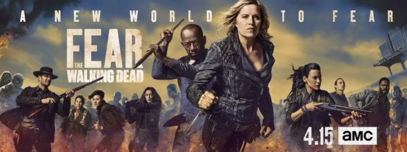 Fear the Walking Dead TV show on AMC: season 4 ratings (canceled renewed season 5?)