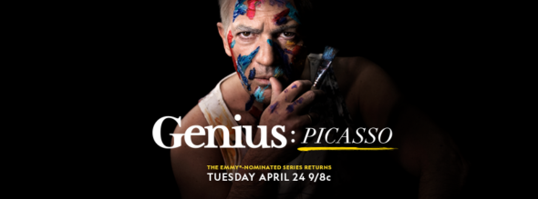 Genius TV show on National Geographic: Season Two Ratings (canceled or renewed season 3?); Genius: Picasso Ratings