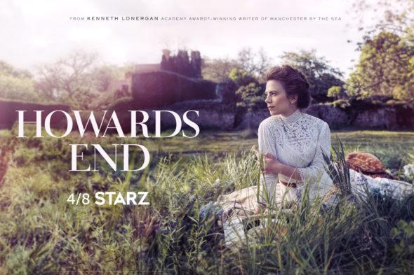 Howard's End TV show on Starz: season 1 ratings (cancel renew season 2?)