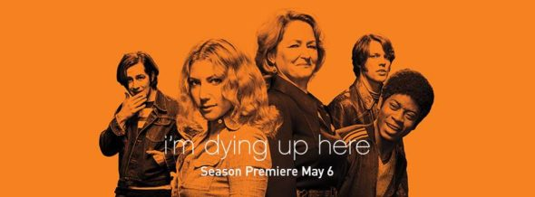 I'm Dying Up Here TV Show on Showtime: season 2 ratings (canceled or renewed season 3?)