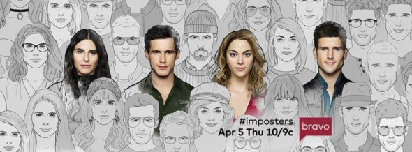 Imposters TV show on Bravo: season 2 ratings (canceled renewed season 3?)