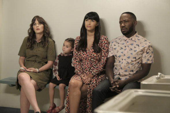 New Girl TV show on FOX: season 7 viewer voting episode ratings (canceled; no season 8)
