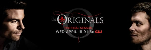 The Originals TV show on The CW: season 5 ratings (canceled, no season 6)