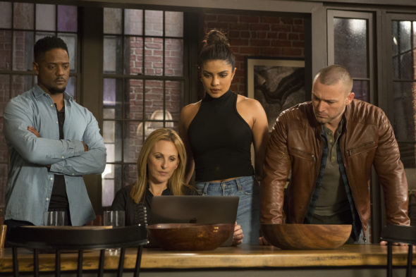 Quantico TV show on ABC: season 3 viewer votes episode ratings (canceled renewed season 4?); Pictured: BLAIR UNDERWOOD, MARLEE MATLIN, PRIYANKA CHOPRA, JAKE MCLAUGHLIN