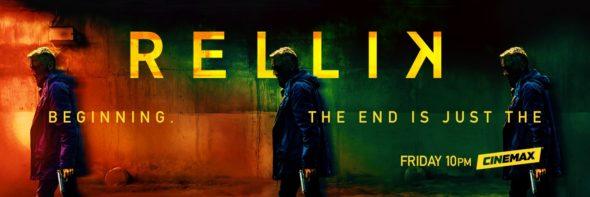 Rellik TV show on Cinemax: season 1 ratings (canceled renewed season 2?)