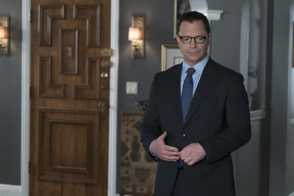 TV Series Finale; Scandal TV show on ABC: ending, no season 8 (canceled or renewed?); Pictured: JOSHUA MALINA