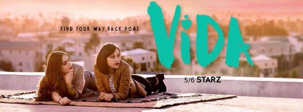 Vida TV show on Starz: season 1 ratings (canceled or renewed season 2?)