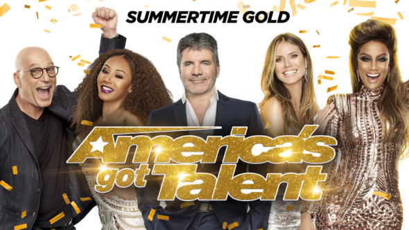 America's Got Talent TV show on NBC: season 13 ratings (canceled or renewed season 14?)