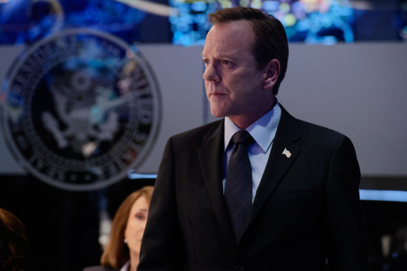 Designated Survivor TV show on ABC: canceled, no season 3