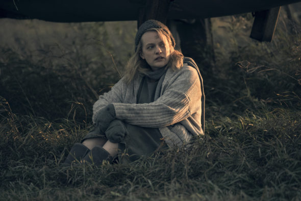 The Handmaid's Tale TV show on Hulu: season 3 renewal (canceled or renewed?); PICTURED: Elizabeth Moss