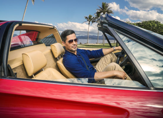 Magnum PI TV show on CBS: season 1 (canceled or renewed?); PIctured: Jay Hernandez as Thomas Magnum