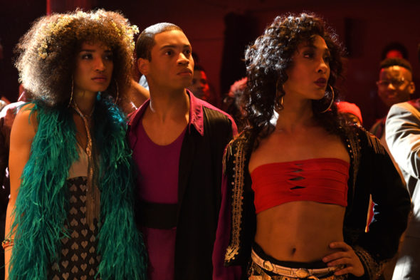 Pose TV show on FX: canceled or season 2? (release date); Vulture Watch; Pictured (l-r): Indya Moore as Angel, Ryan Jamaal Swain as Damon, Mj Rodriguez as Blanca