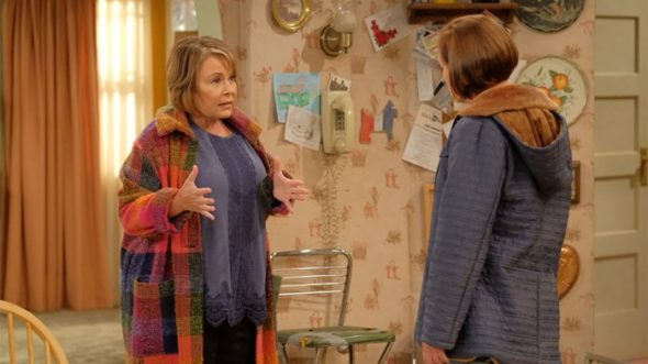 Roseanne TV show on ABC: (canceled or renewed?)
