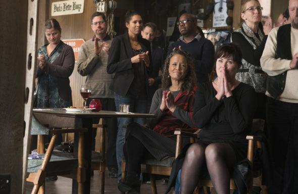 Siren TV show on Freeform: season 2 renewal (canceled or renewed?); Pictured: Rena Owen, Jill Teed