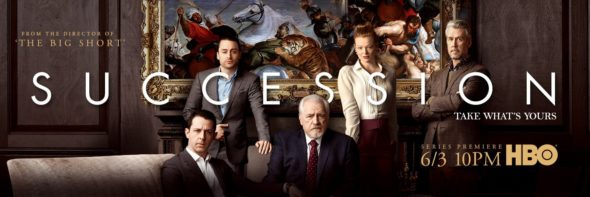 Succession TV show on HBO: season 1 ratings (canceled renewed season 2?)