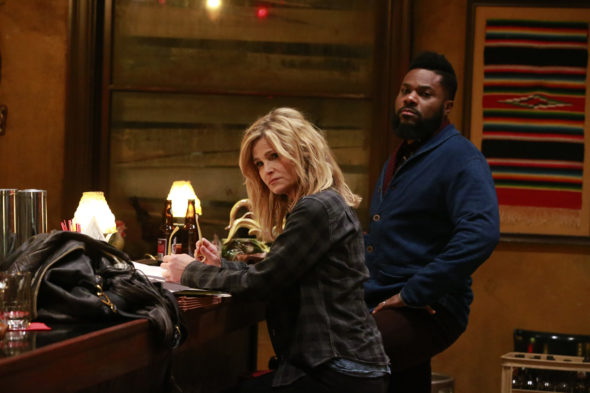 10 Days in the Valley; Ten Days in the Valley TV show on ABC: canceled, no season 2 (canceled or renewed?); Pictured: Kyra Sedgwick, Malcolm-Jamal Warner